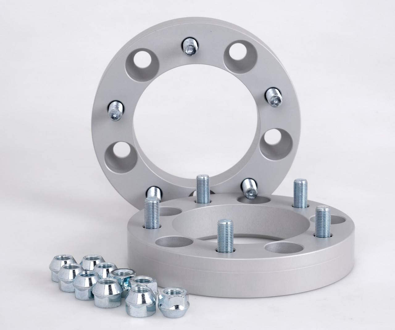 Spurverbreiterung Aluminium 2 Stück 30 Mm Pro Scheibe 60 Mm Pro Achse Inkl TÜv Teilegutachten Auto