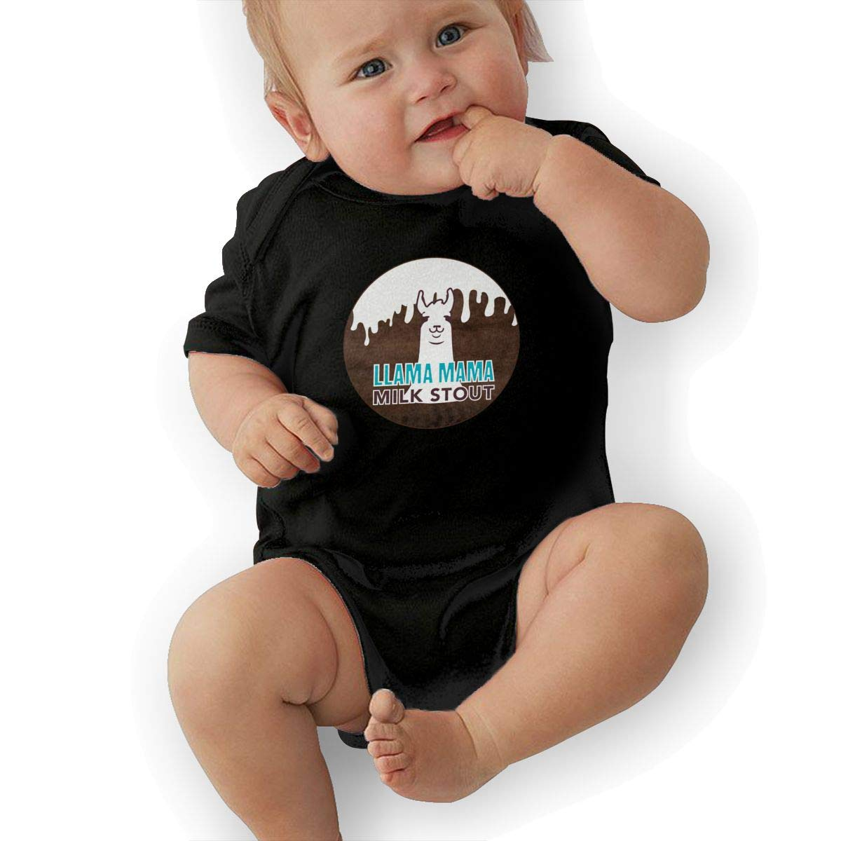 Bodysuits Clothes Onesies Jumpsuits Outfits Black HappyLifea Mama Llama Baby Pajamas