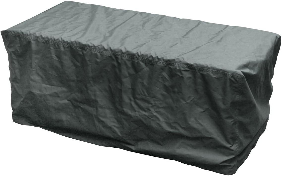 126x55x51cm greemotion 127184  Copertura per scatola di immagazzinaggio-Cappuccio protettivo per mobilili da giardino