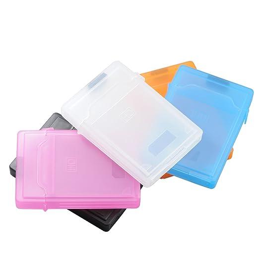 """125 opinioni per QUMOX 5pcs 2.5 """"Hard Disk Drive Protection HDD STORAGE BOX CASE SERBATOIO PER"""