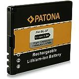 Batterie BL-5F | BL5F pour Nokia 6210 Navigator | 6210 slide | 6290 | 6710 Navigator | E65 | N93i | N95 | N96 | X5-00 et bien plus encore… [ Li-ion, 1100mAh, 3.7V ]