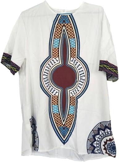 Hzjundasi Hombre Vendimia Africano Nacional Estilo Disfraz Tribal ...