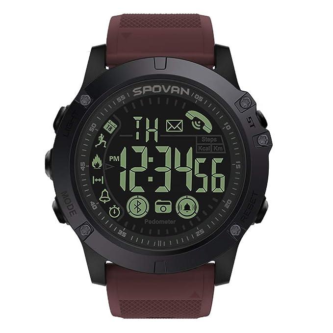 Cebbay Liquidación Smartwatch Deporte Hombre Reloj Inteligente Hombre Fitness Tracker para Deportes y Aire Libre con Contadores de Calorías Cronómetro ...