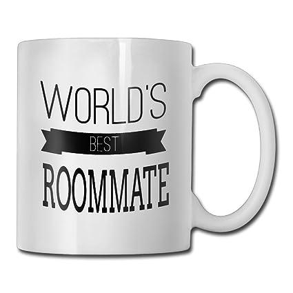 Amazon.com: Funny Quotes Mug With Sayings - Roommates - Gift ...
