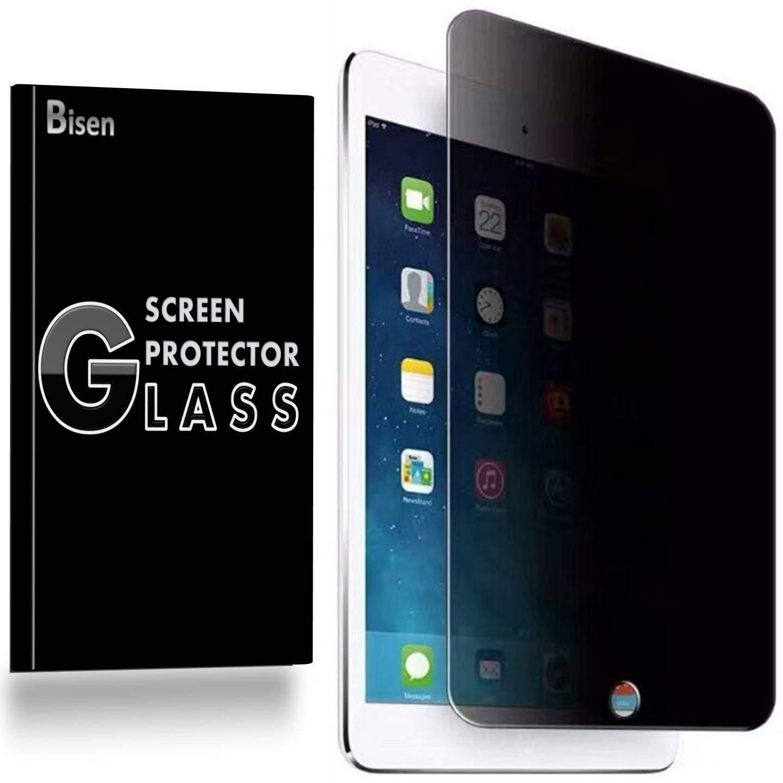 [BISEN] iPad Pro 9.7用 プライバシースクリーンプロテクター 強化ガラス アンチスパイスクリーン 傷防止 耐衝撃 バブルフリー 生涯保護 交換用   B07QMYYDHP