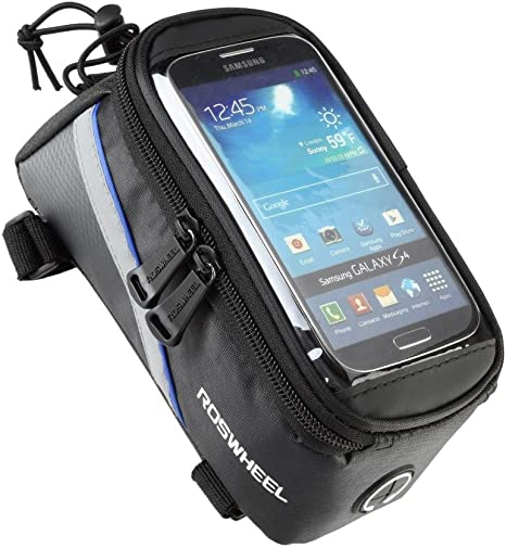 Classic Roswheel Cycling Bicycle Bike Frame Front Tube Bags Case For All iPhone
