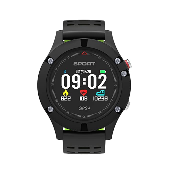 Amazon.com: GZCRDZ NEW No.1 F5 GPS Smart watch Altimeter ...