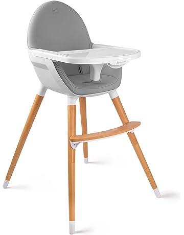 FINI Chaise Haute Bebe 2en1 Style Scandinave Nordique Bois