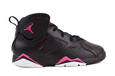 Nike Jordan 7 Retro GP Girls Fashion-Sneakers 442961-018_11.5C - Black