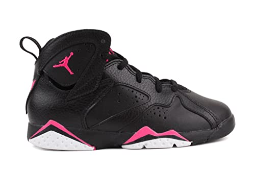 Amazon.com | Nike Jordan 7 Retro GP Girls Fashion-Sneakers 442961-018_11.5C - Black/Hyper Pink-Hyper Pink/Blue | Basketball