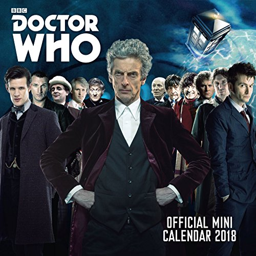 Doctor Who Mini Official 2018 Calendar