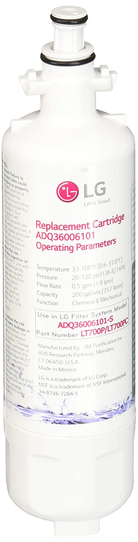 LG LT700P water filter 2 Pack white 3M