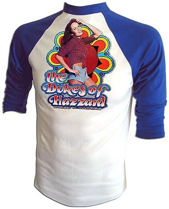 5be1e96d Amazon.com: Vintage 80's Daisy Duke Catherine Bach The Dukes of Hazzard  Jersey T-Shirt: Clothing