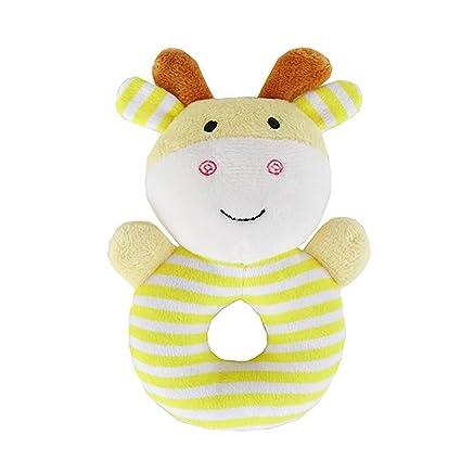 YeahiBaby Peluches suaves de bebe Animales Felpa Juguete para 0-12 meses infante (Cervatillo