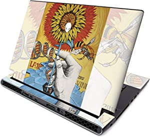 MightySkins Skin for Alienware M15 R2 (2019) - Sunflower DNA | Protective, Durable, and Unique Vinyl Decal Wrap Cover | Easy to Apply, Remove, and Change Styles | Made in The USA