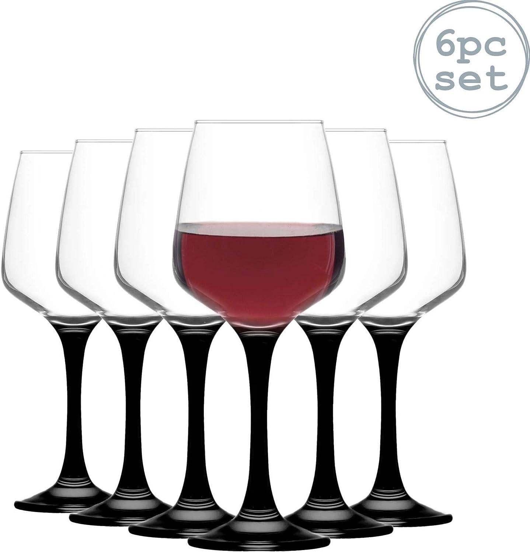 LAV Lal copas de vino - 295 ml - Pack de 6 copas Copas: Amazon.es: Hogar