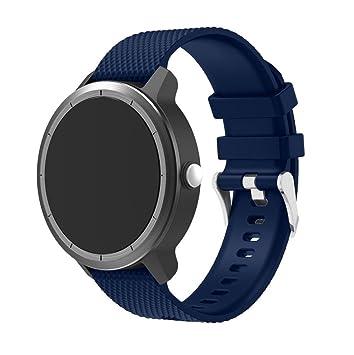Correa Y56 para Garmin Vivoactive 3 banda, correa de silicona suave deportiva correa de repuesto
