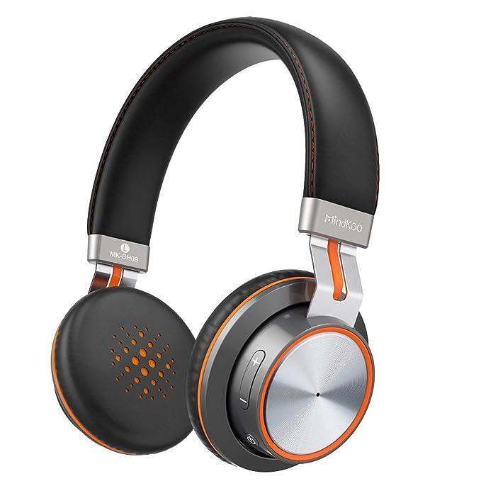 Auriculares Bluetooth On-Ear Sonido Estéreo HiFi con Almohadillas ...