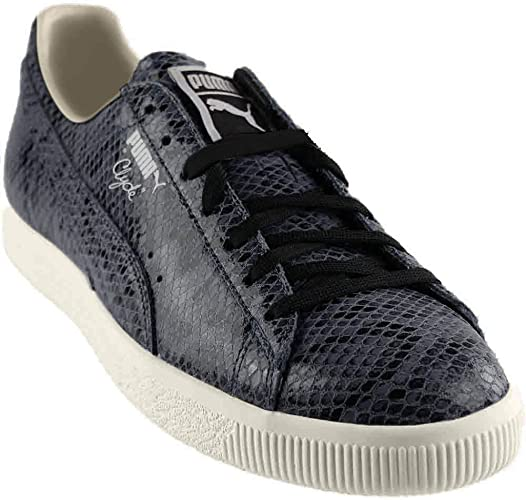 PUMA Men's Clyde Snake Leather Fashion Sneaker