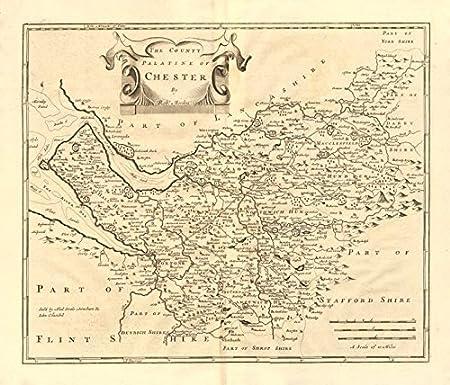 Cheshire County Palatine Of Chester Robert Morden Camden S