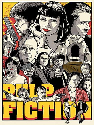 - Pulp Fiction Poster Standard Size 18×24 inches
