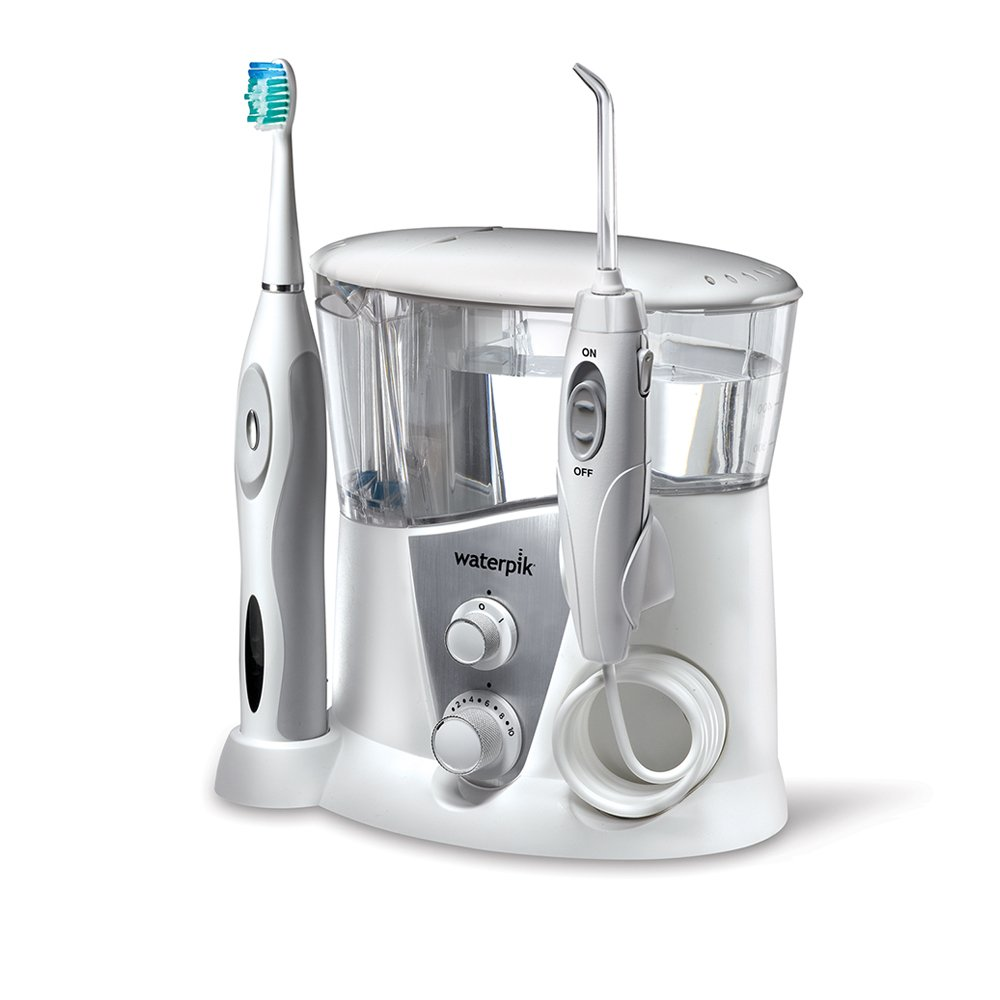 Waterpik WP-950 Complete Care 7.0 Water Flosser and Sonic Tooth Brush by Waterpik (Image #1)