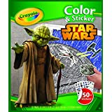 Crayola Star Wars Color & Sticker Book