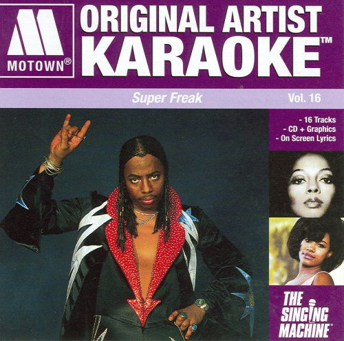 Motown Original Artist Karaoke: Super Freak, Vol. 16 - Original Artist Karaoke