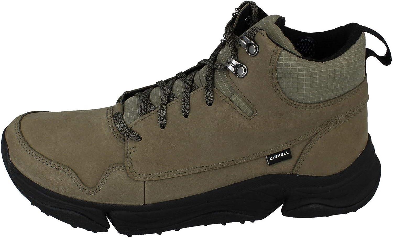 Mens Clarks Waterproof C Shell Nubuck Leather Hiking Walking Boots Tri Path Hike