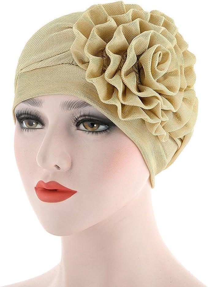 Sombrero De Mujer Flores, La Mujer Cancer Chemo Sombrero ...