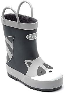 7b89ec67 Chipmunks Fargo Fox, Rust, Kid's Unisex Wellington Boots: Amazon.co ...