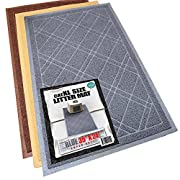 Amazon Lightning Deal 83% claimed: Phthalate & BPA Free. XL Size Cat Litter Mat - Mesh Mat Catches Litter - Repels Odor & Liquid - Litter Free Floors. Extra Soft, Easy Clean. iPrimio Brand
