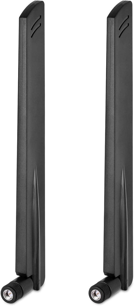 SMA Antena 4G LTE Antena Externa 10dBi WiFi Antenna Amplificador de señal para 3G/4G Router Modem Huawei B315/B593 cámara de Seguridad con Conector ...