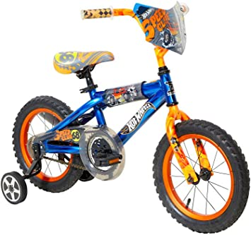 Hot Wheels Dynacraft Bicicleta, Azul, 14 Pulgadas: Amazon.es ...