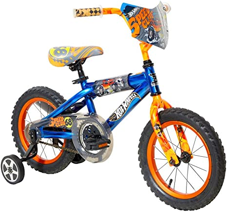 Hot Wheels Dynacraft Bicicleta, Azul, 14 Pulgadas: Amazon.es ...