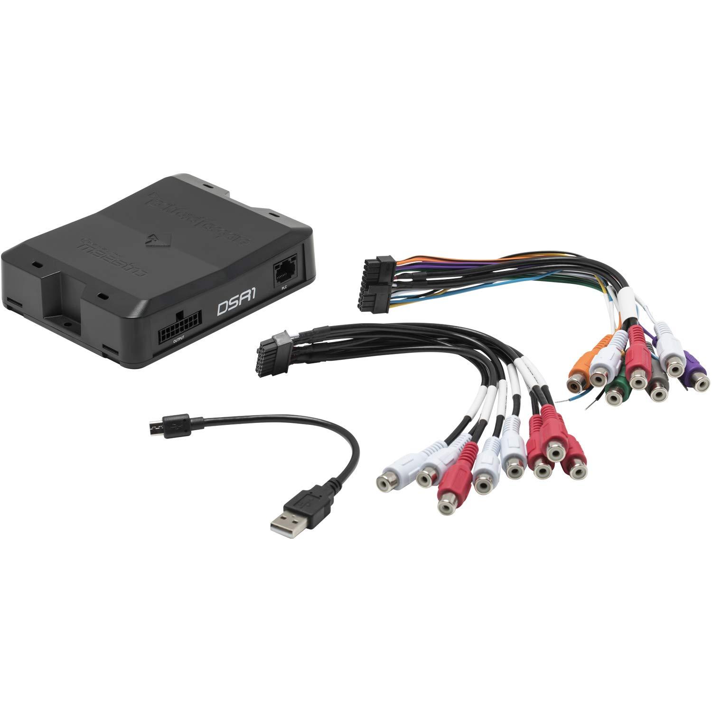 Rockford Fosgate DSR1 8-Channel Interactive Signal Processor w//Integrated iDatalink Maestro Module ADS-DSR1