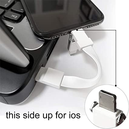 new concept ea36e d4726 Amazon.com: Type-C USB Cable, OIF Iphone9 3 in 1 USB Cable Keychain ...