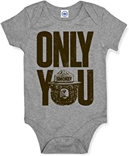product image for Hank Player U.S.A. Smokey Bear Only You Baby Onesie