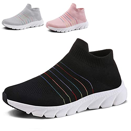 6c0961e6afcc8 QZBAOSHU Women's Running/Walking Shoes Lightweight Breathable Casual Sports  Shoes Fashion Sneakers