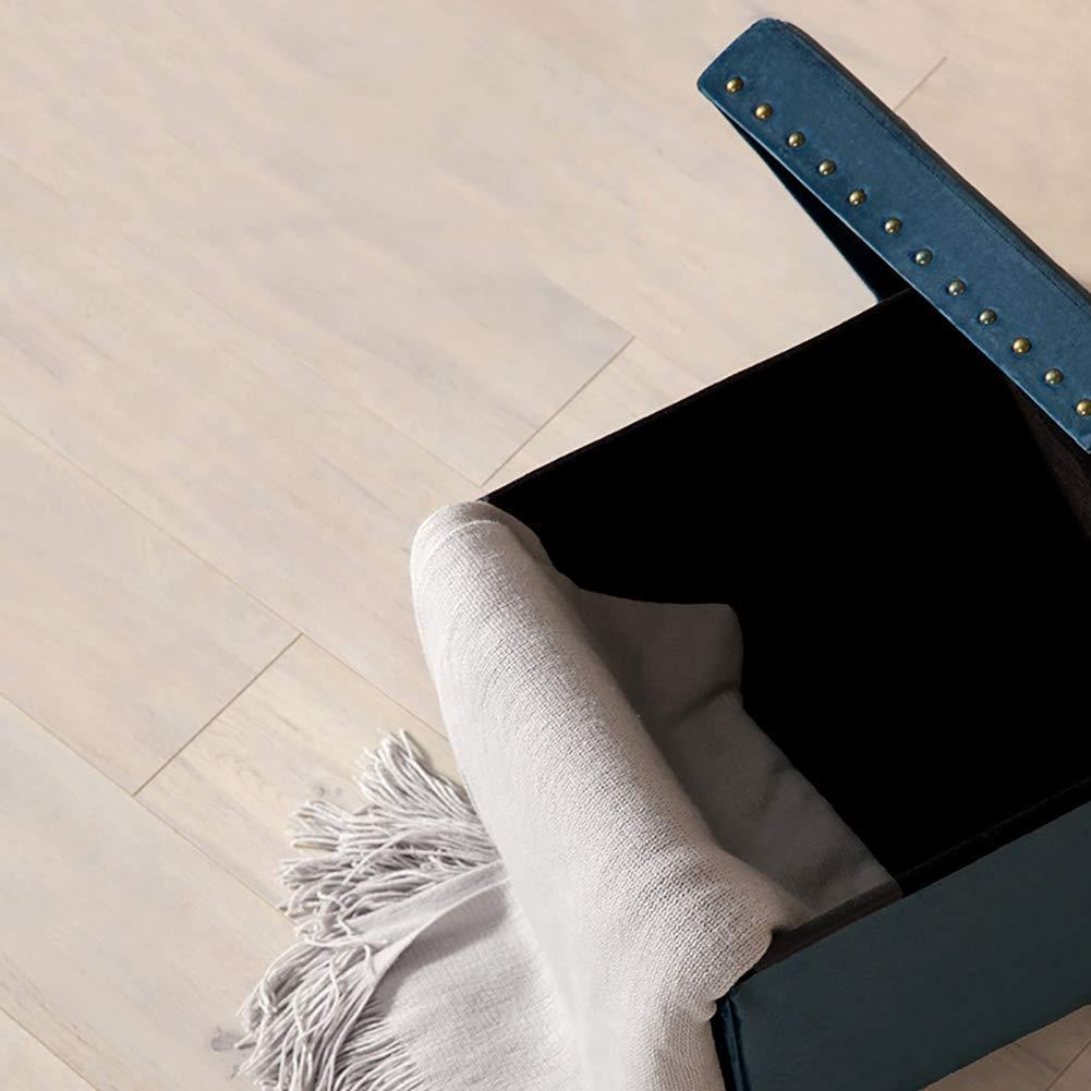 Amazon.com: GRJXMD Taburete de almacenamiento, cubierta de ...