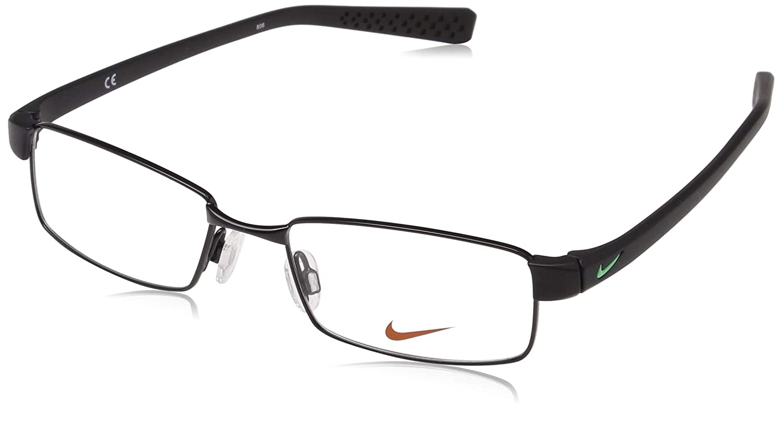 eea3e432441 Amazon.com  Nike Eyeglasses 8162 010 Shiny Black Black Demo 50 17  Sports    Outdoors