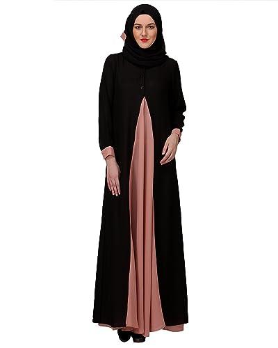 Modest Forever Pretty Pink Layered Abaya