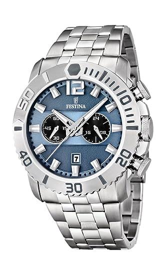 Festina F16613/2 - Reloj cronógrafo de Cuarzo para Hombre ...