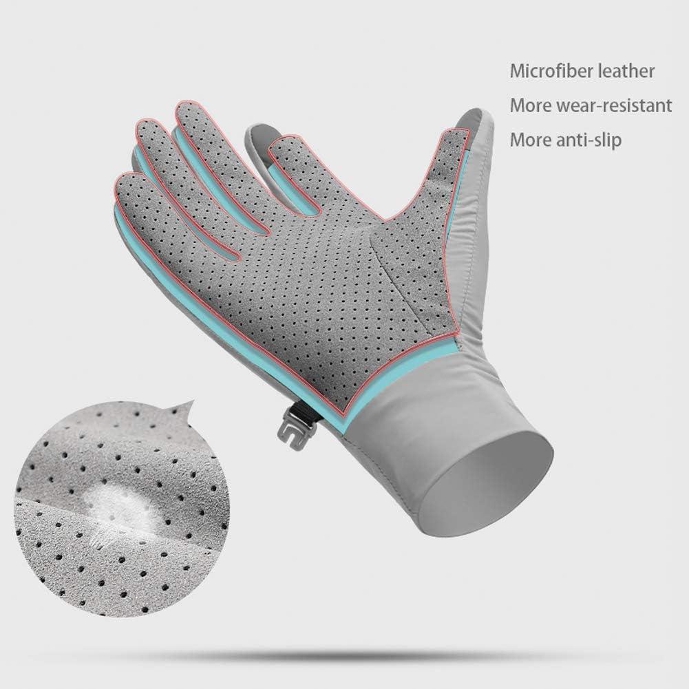 Guantes de compresi/ón unisex con pantalla t/áctil y protecci/ón UV Tofern
