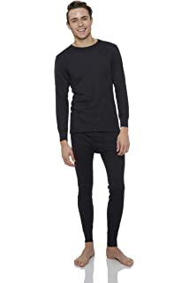 4306266d04e1 Rocky Thermal Underwear for Men Top & Bottom Set Long John Ultra Soft  Smooth Knit