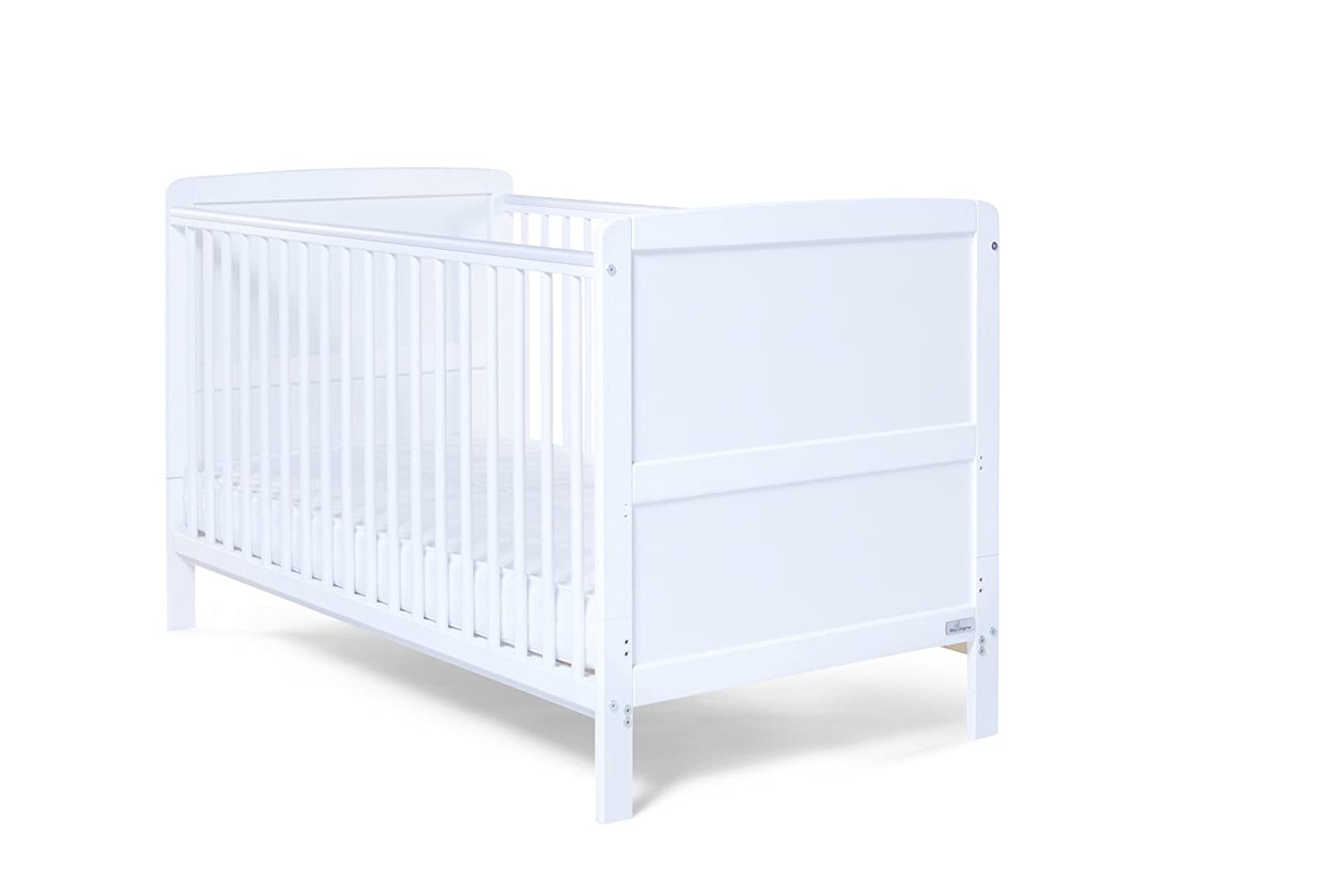 Baby Elegance Travis Cot Bed (White) 1363
