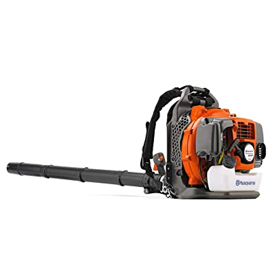 Husqvarna 965877502 350BT 2-Cycle Gas Backpack Blower, Orange