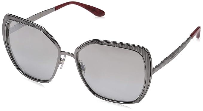 Dolce e Gabbana 0DG2197, Gafas de sol para Mujer, Gunmetal ...