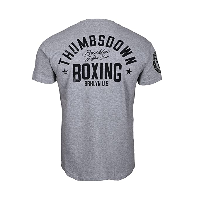 Thumbsdown Thumbs Down Boxeo Camiseta Brooklyn Fight Club MMA. Gimnasio Entrenamiento. Marcial Artes Informal 4V0v2BGZ