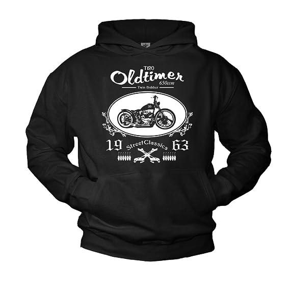 Amazon.com: MAKAYA Motorcycle Mens Hoodie xs650 Twin Bobber Sweatshirt: Clothing